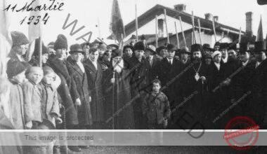 Constantin Angelescu alături de elevi