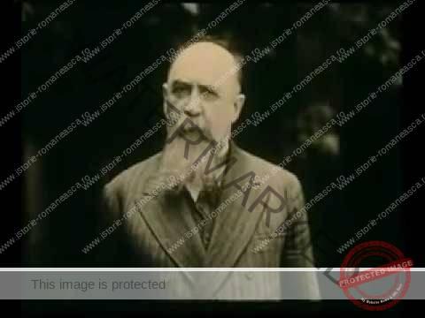Nicolae Iorga le vorbește românilor în anii 1930