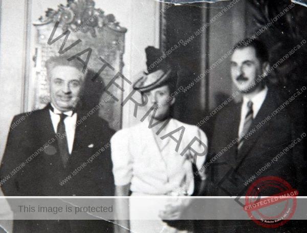 Petre Papacostea, Elena Brătianu și Gheorghe Brătianu