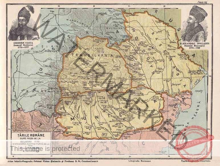 Țările Române după pacea de la Belgrad din 1739