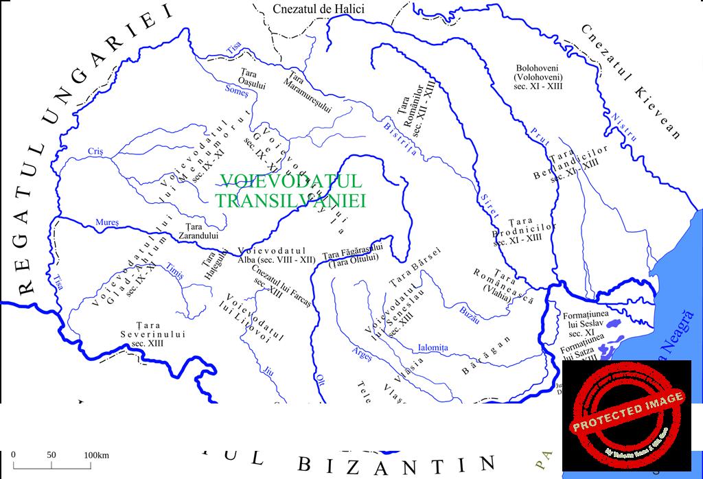 Autonomii locale şi instituţii centrale în spaţiul românesc între secolele IX-XVIII (clasa a XII-a)