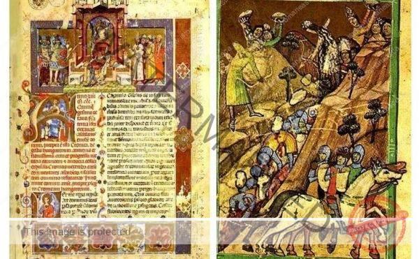 9-12 noiembrie 1330. Cronica pictată de la Viena