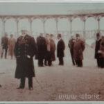 Carte postala ilustrata - Familia Regala si Princiara la Mamaia - 1912