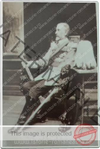 Carte postala ilustrata - Regele Carol I - nedatata