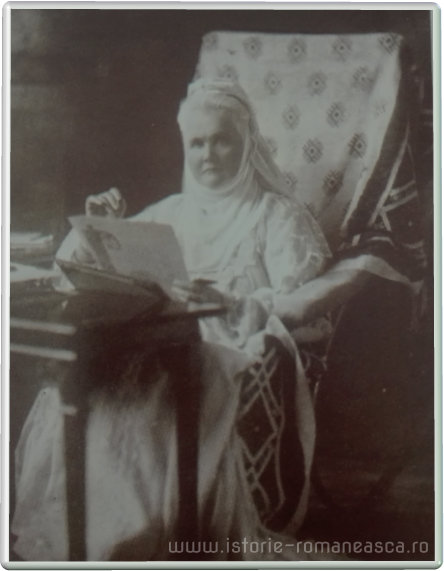 Carte postala ilustrata - Regina Elisabeta - 1912