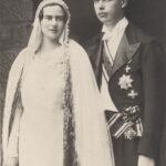 Prințesa Ileana și soțul său, arhiducele Anton