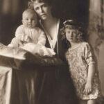 Prințesa Ileana împreună cu Regina Maria și prințul Mircea