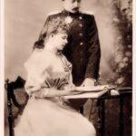 Prințesa Maria și Prințul moștenitor Ferdinand în 1893