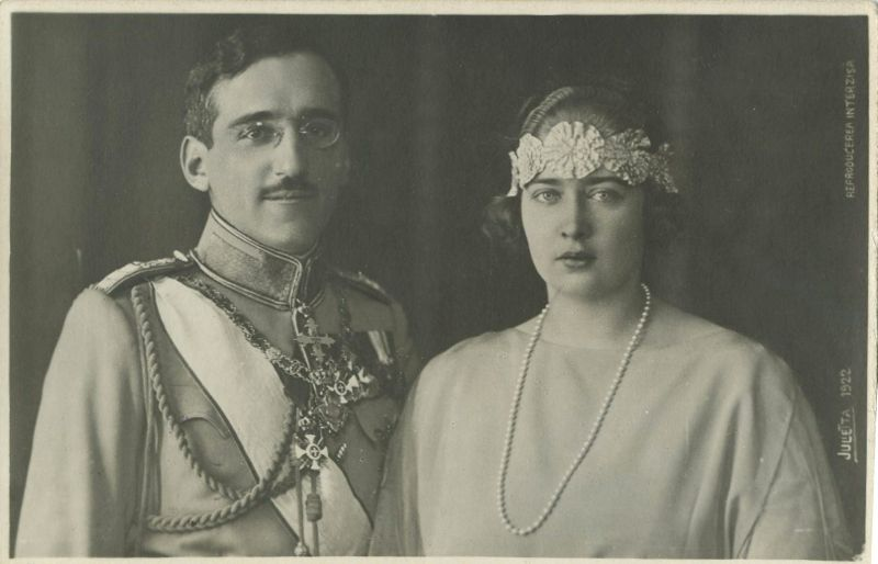 Regele Alexandru I și Regina Maria ai Iugoslaviei
