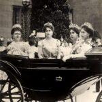 Prințesa Maria împreună cu mama și surorile sale în 1902