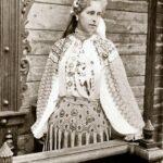 Regina Maria la Sinaia, în 1898