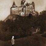 Regina Maria la Castelul Bran în 1925