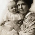 Prințesa Maria cu fiica sa Ileana