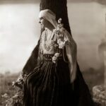 Regina Maria la Scroviștea, în 1925