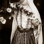 Regina Maria la Scroviștea, în 1924