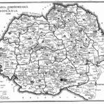 Harta României în 1936