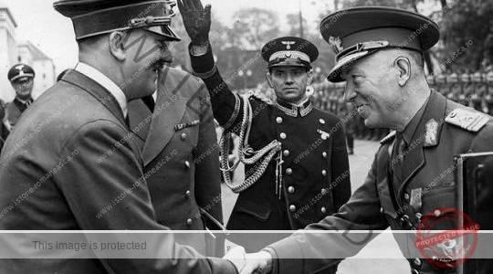 Adolf Hitler și mareșalul Ion Antonescu