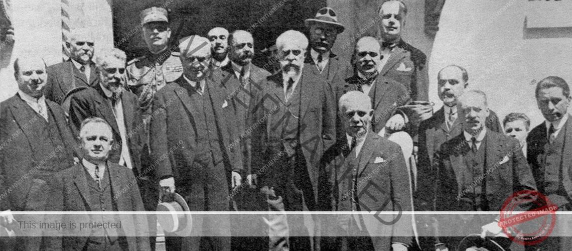 Membrii ultimului guvern Ionel Brătianu