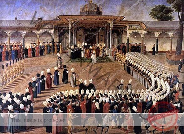 Ceremonia de încoronare a voievozilor români
