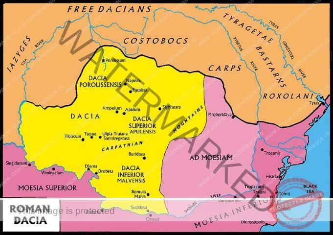 Dacia în timpul împăratului Hadrian