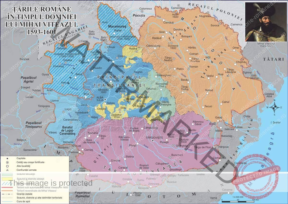 Țările Române în timpul lui Mihai Viteazul (1593-1601)