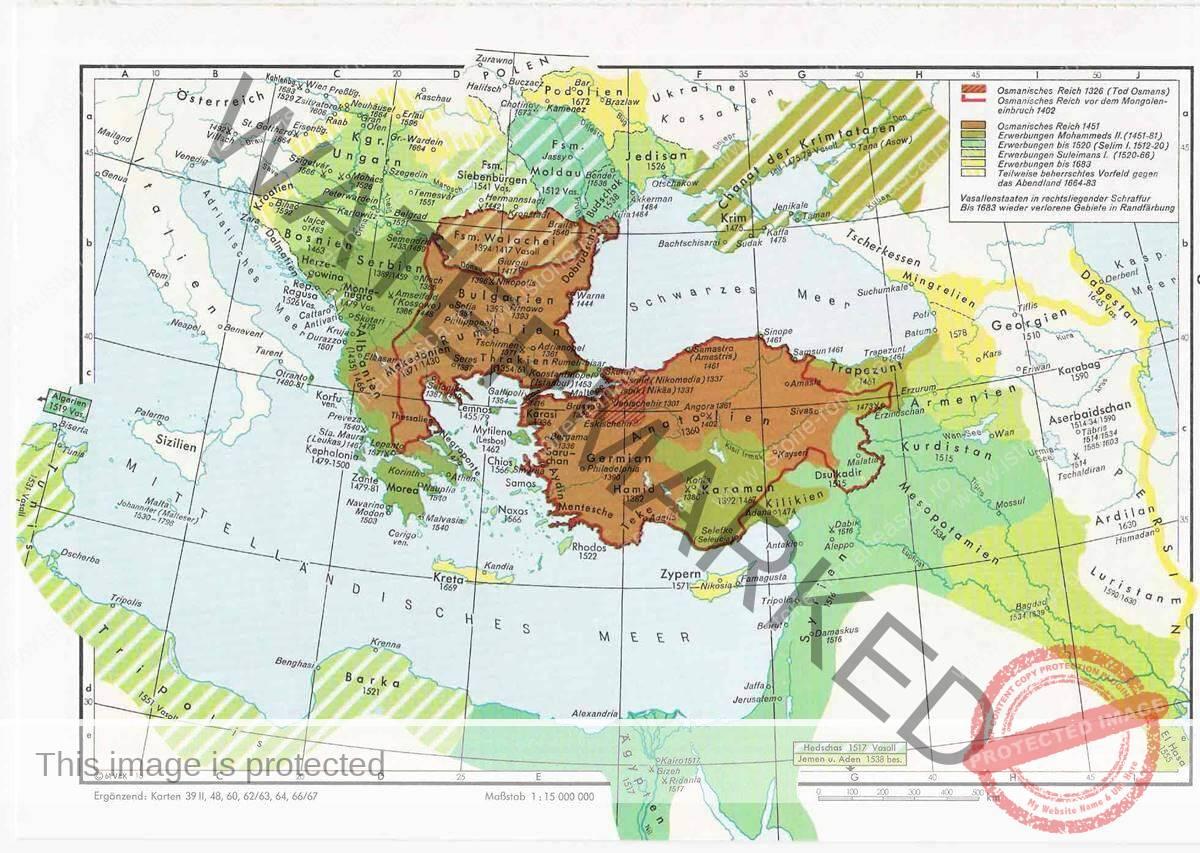 Țările Române între veacurile XIV-XVI