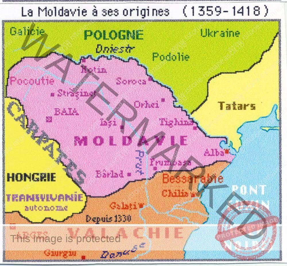 Moldova între anii 1359-1418