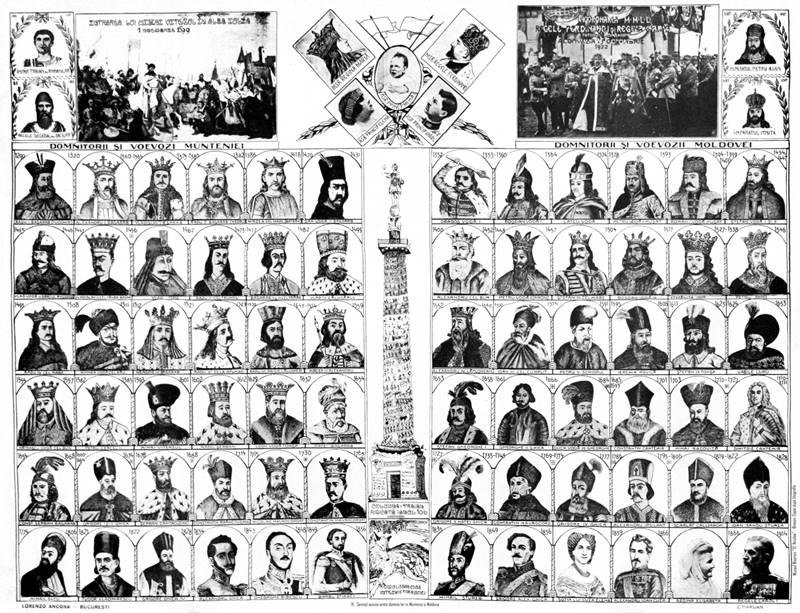 Voievozii statelor medievale românești