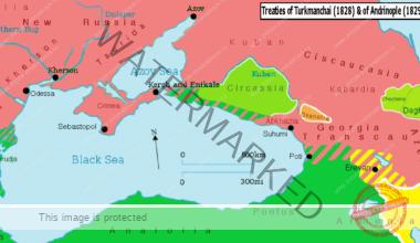 Marea Neagră după Tratatul de Pace de la Adrianopol din 1829