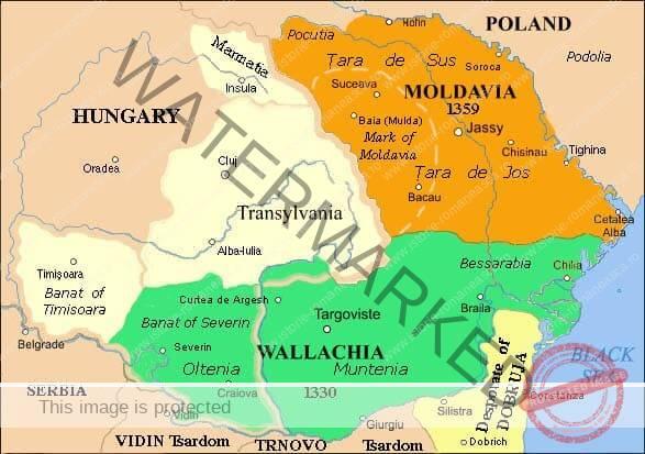 Țările Române în a doua jumătate a veacului al XIV-lea