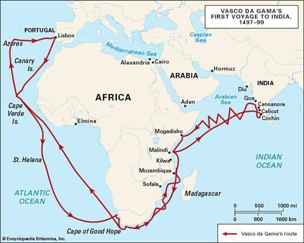 Expediția lui Vasco da Gama