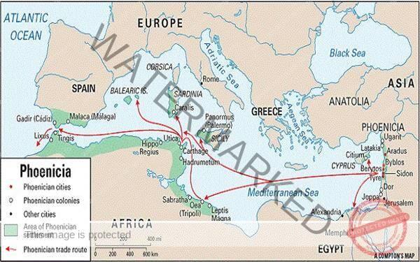Călătoriile fenicienilor