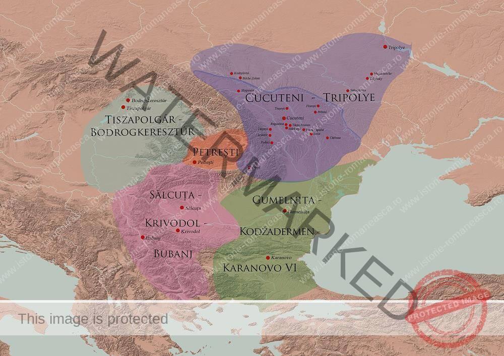 Culturile Cucuteni și Hamangia (clasa a VIII-a)