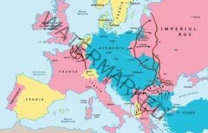 Evoluția fronturilor din Europa în Primul Război Mondial