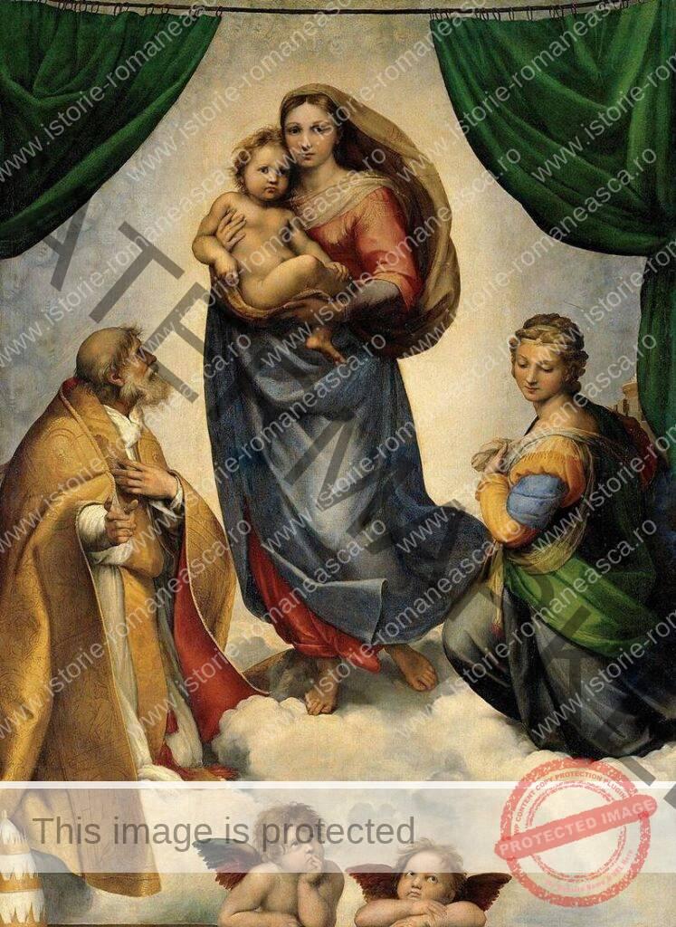 Rafael Sanzio: Madonna Sixtină