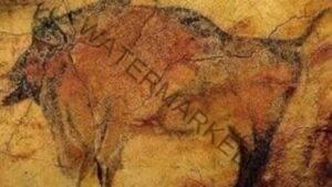 Pictură rupestră din peștera Coliboaia din Apuseni
