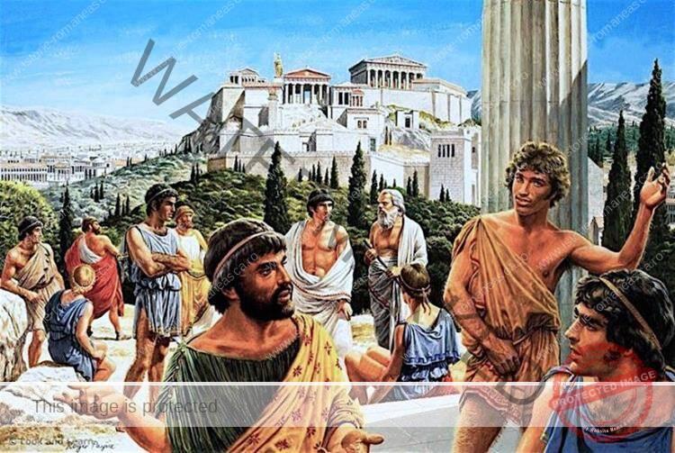 Societatea ateniană
