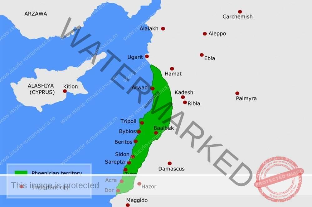 Teritorii feniciene