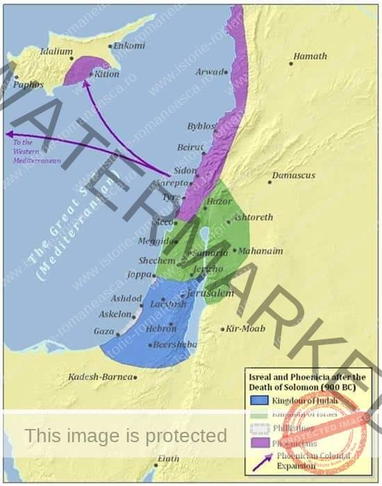 Descoperirile geografice din antichitate: fenicienii (opțional clasa a VI-a)