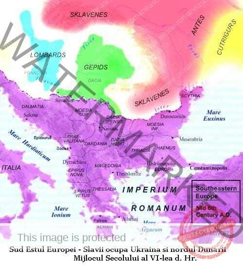 Migrația slavilor în secolul VI