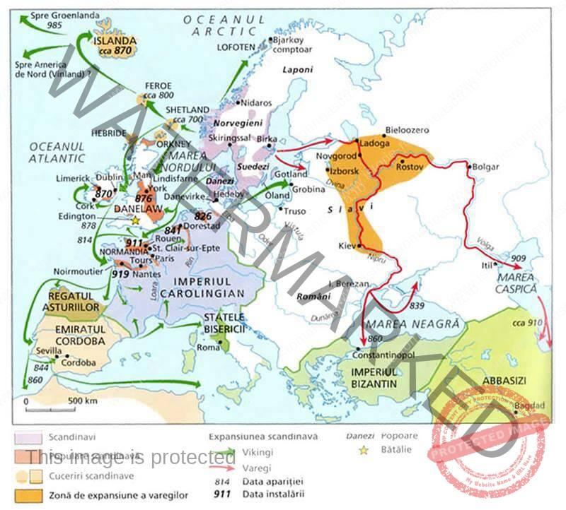 Cuceririle vikingilor din Europa