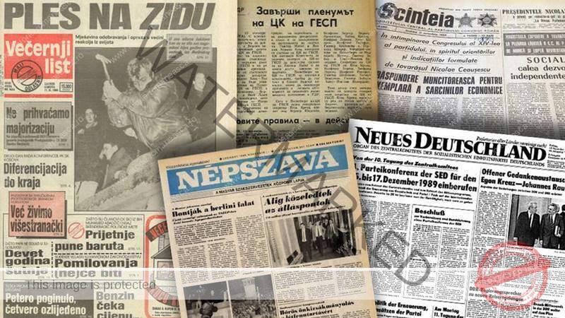 România în presa internațională după 1989
