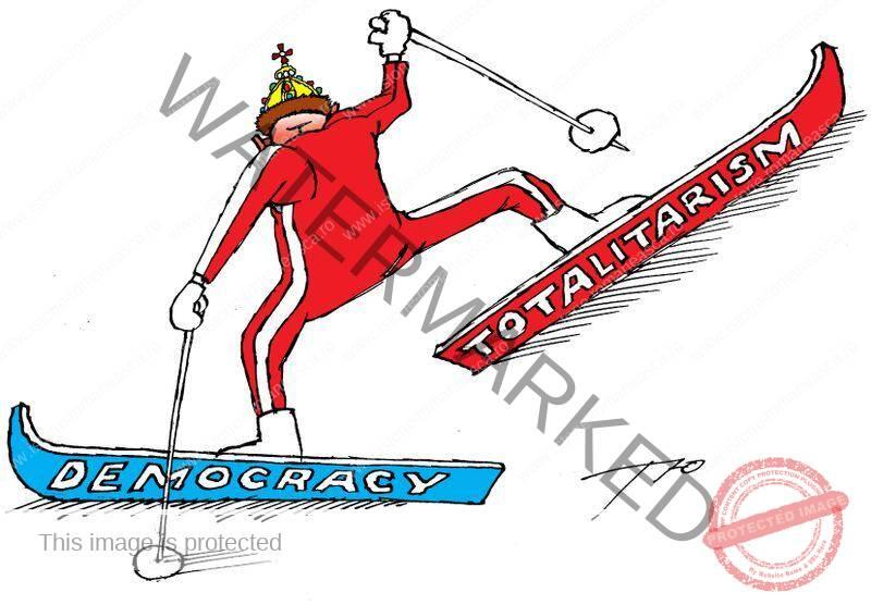 Cetățean și stat în democrație și în totalitarism
