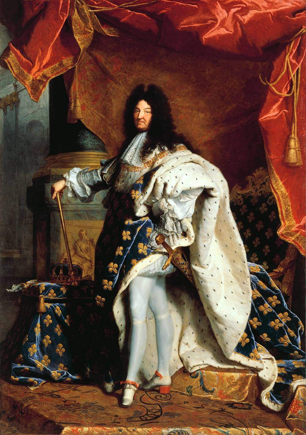 Ludovic al XIV-lea. Palatul de la Versailles