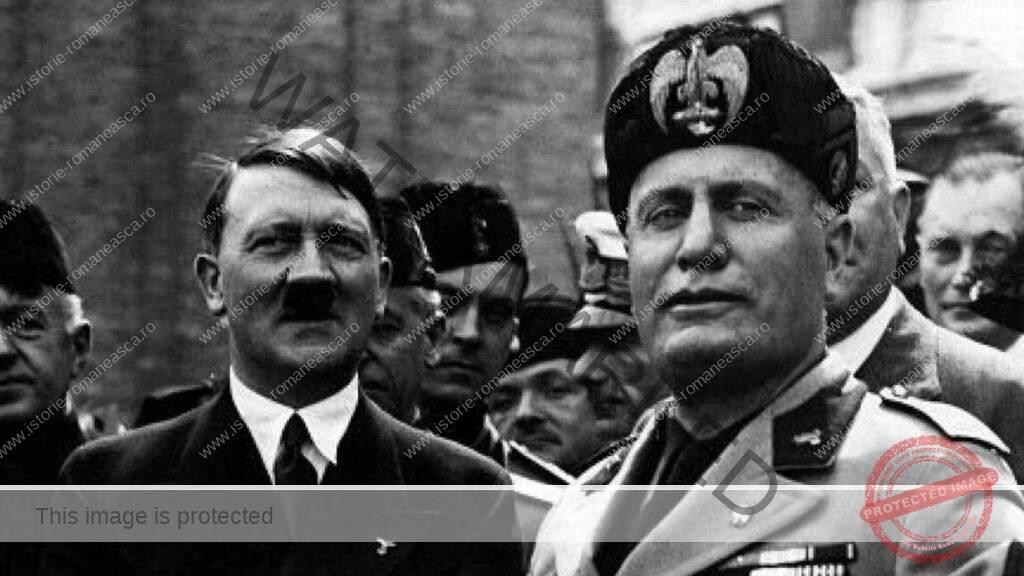 Adolf Hitler și Benito Mussolini
