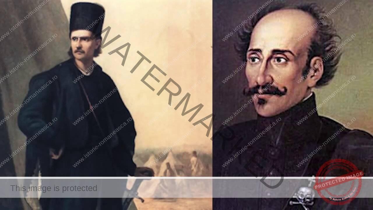Tudor Vladimirescu și Alexandru Ipsilanti