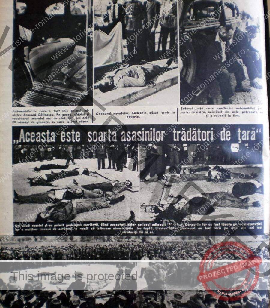 Asasinarea lui Armand Călinescu. Răzbunarea lui Carol al II-lea