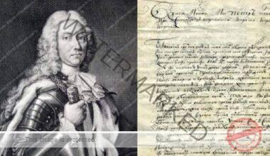 Dimitrie Cantemir - Tratatul de la Luțk