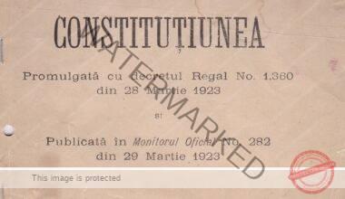 Constituția din 1923